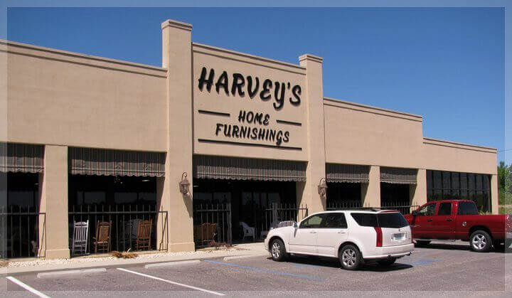 Harvey's Home Furnishings Showroom